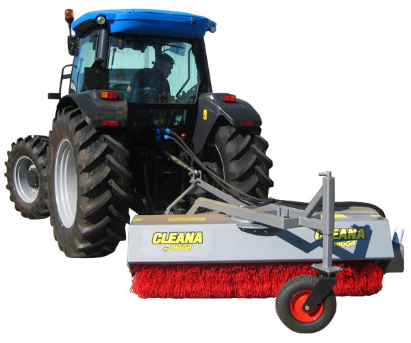 Cleana Angle Brooms With 3 Point Linkage For Tractors