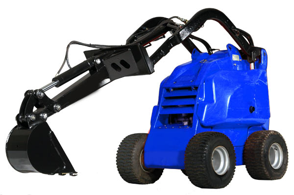 small digger machine
