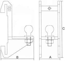 Mini Tow Bar Dimensions