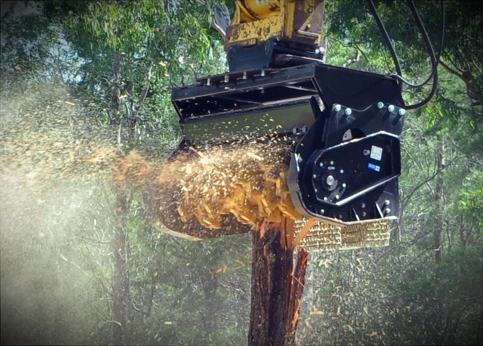 Digga Australia Machinery Attachments Magnum Mulcher