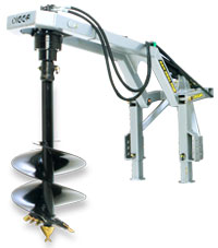 Digga PHD Rear Mounted Post Hole Digger- Hydraulic
