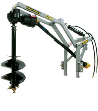 Digga PTO Rear Mounted Post Hole Digger- Shaft Driven