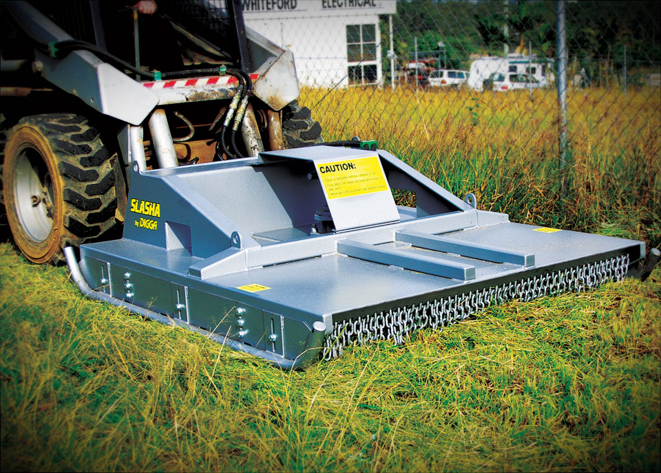 Slasher For Skid Steer Loaders