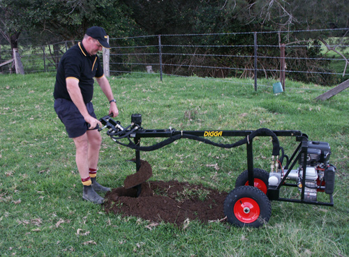 One Man Post Hole Borer Australian Made One Man Drilling