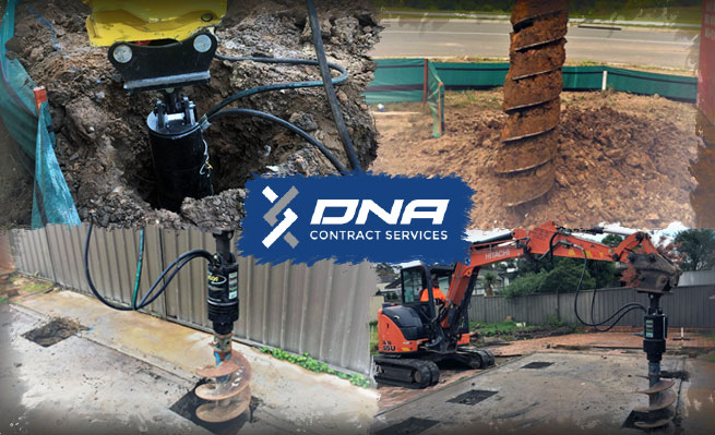 Digga 'give the best bang for buck' for Sydney earthmovers dna contract services.
