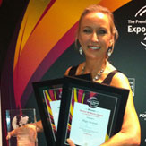 Digga Australia - Suzie Wright - Gold Coast Business Excelennce and Dermot McManus Awards 2013