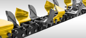 Trencher Chains - Multi purpose combination chain - Digga Australia
