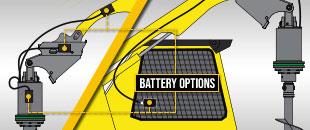 HALO has a 'no setup' battery option - Digga Australia