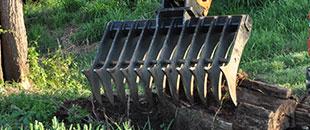 Stick Rakes for Excavators
