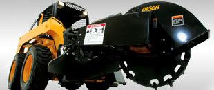 Stump Grinder - Easy to operate & maintain - Digga Australia